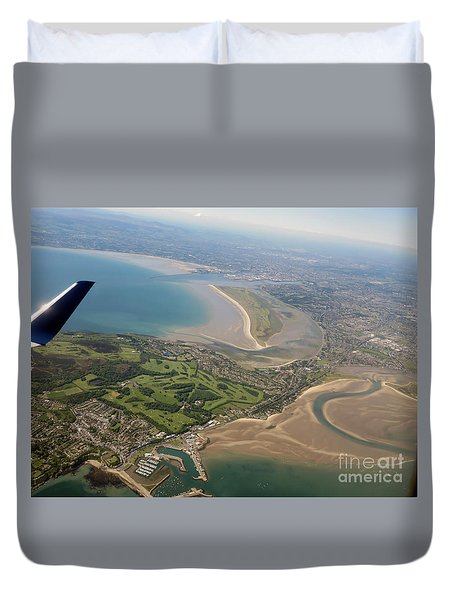 Leaving Dublin Ireland  Day10 Duvet Cover by Cindy Murphy - NightVisions