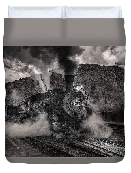 Leaving Durango For Silverton Duvet Cover