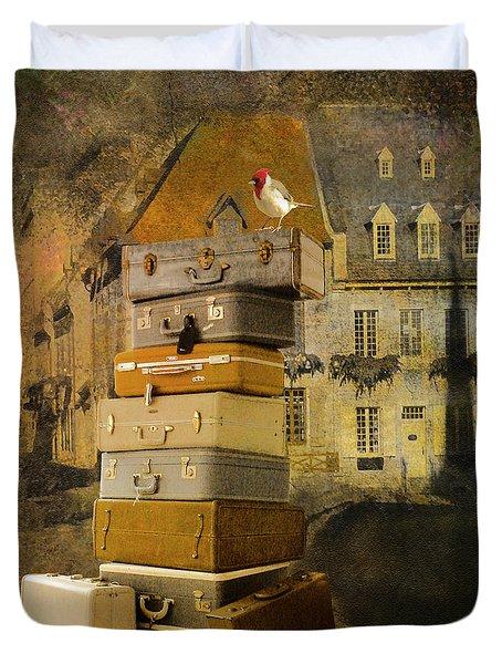 Leaving Quebec Duvet Cover by Jeff Burgess