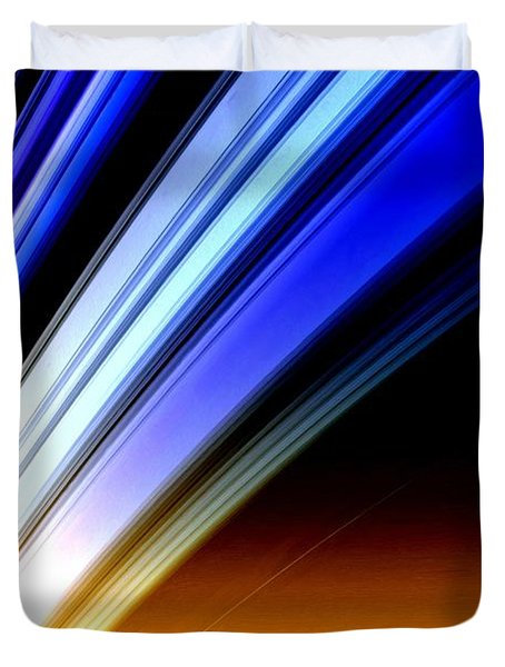Leaving Saturn Duvet Cover