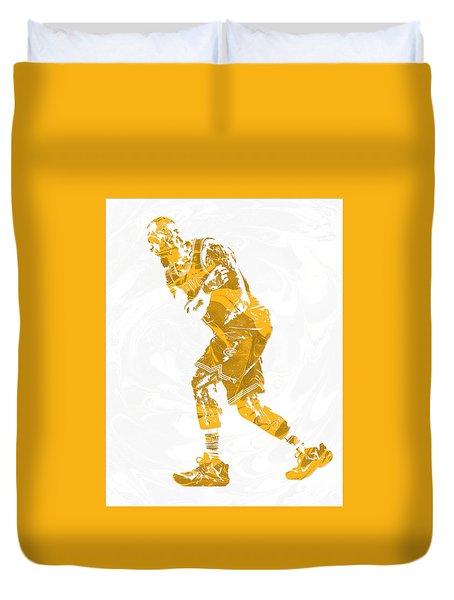 Lebron James Cleveland Cavaliers Pixel Art 13 Duvet Cover