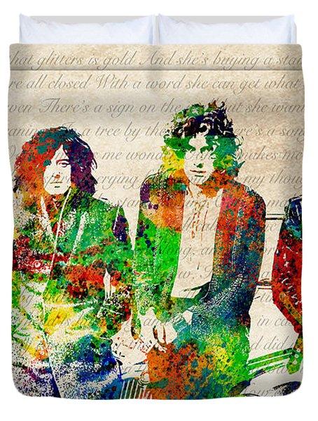 Led Zeppelin Duvet Cover