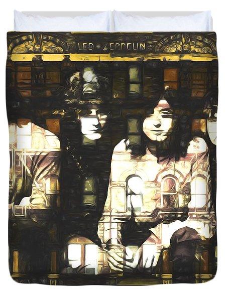 Led Zeppelin Physical Graffiti Duvet Cover