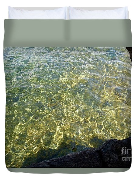 Ledge View Ripples Duvet Cover