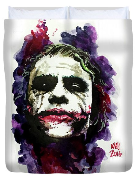 Ledgerjoker Duvet Cover by Ken Meyer jr