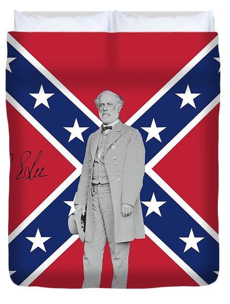 Lee Battleflag Duvet Cover