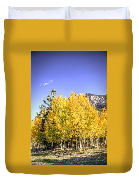 Lee Canyon Aspen Duvet Cover