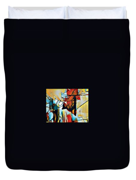 Left To Die Upon The Ground Duvet Cover