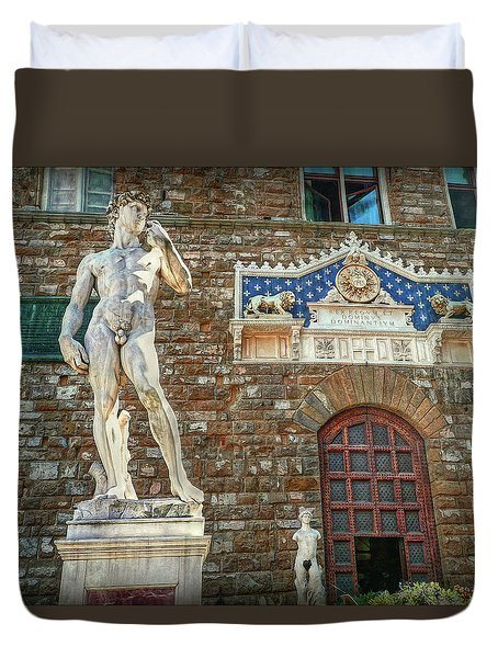 Duvet Cover featuring the photograph Legal Nudity by Hanny Heim