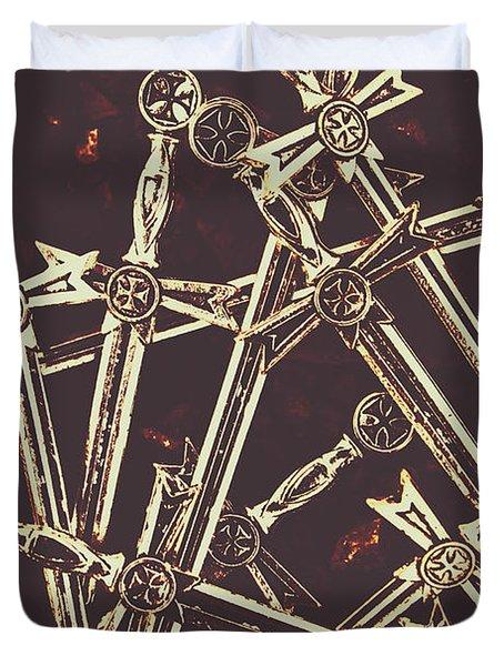 Legion Of Arms Duvet Cover