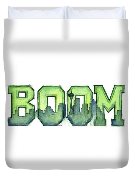 Legion Of Boom Duvet Cover