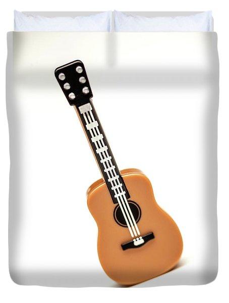 Lego Guitar Duvet Cover