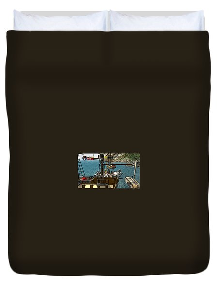 Lego Pirates Of The Caribbean The Video Game Duvet Cover