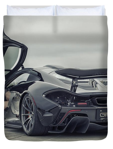 #mclaren #mso #p1 #wheels And #heels Duvet Cover