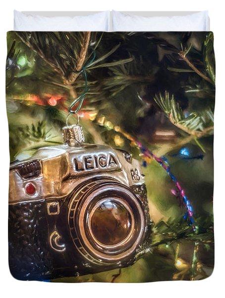 Leica Christmas Duvet Cover