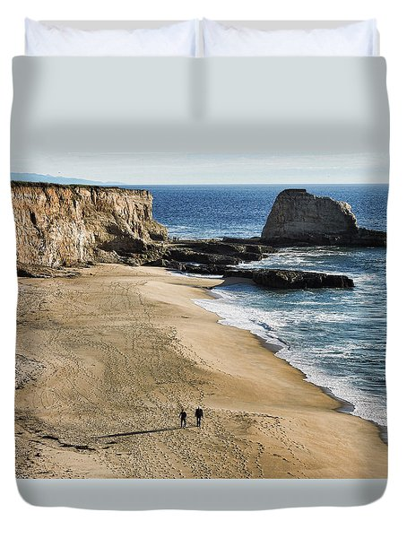 Leisurely Stroll Duvet Cover