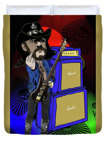 Lemmy Duvet Cover