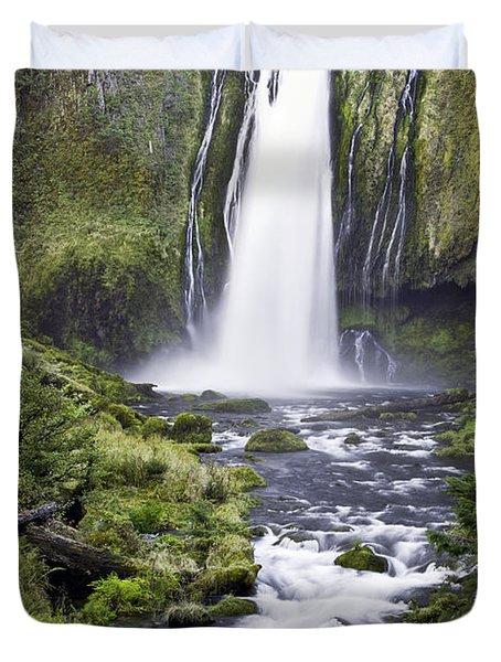 Lemolo Falls Duvet Cover