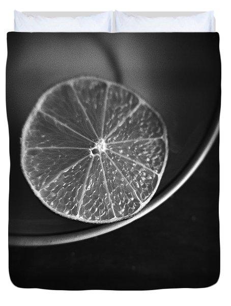 Lemon Duvet Cover by Andrey  Godyaykin