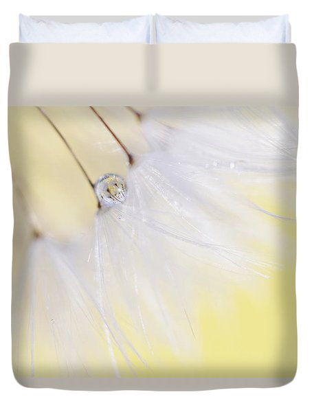 Duvet Cover featuring the photograph Lemon Drop by Amy Tyler