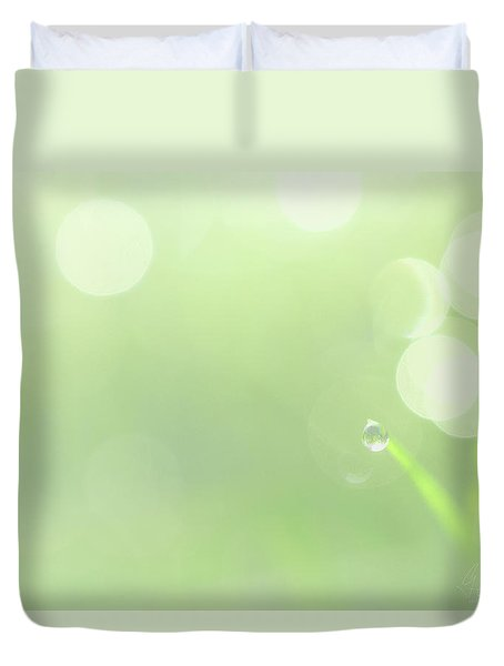 Duvet Cover featuring the photograph Lemon by Gene Garnace