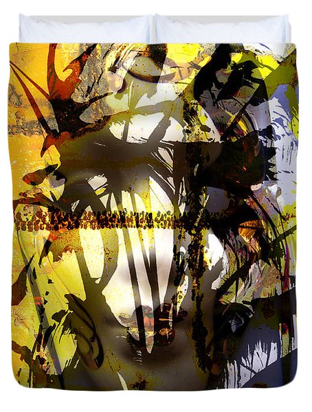 Lemon To Wounds  Duvet Cover by Jerry Cordeiro