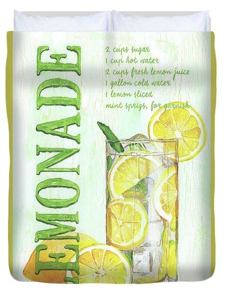 Lemonade Duvet Cover
