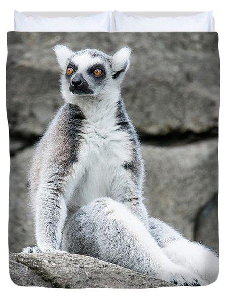 Lemur The Cutie Duvet Cover