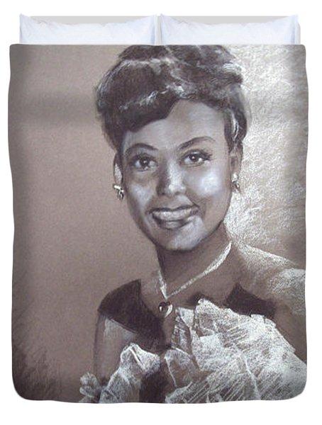 Lena Horne Duvet Cover
