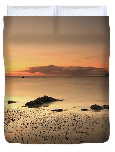 Lendalfoot Sunset Ref8962 Duvet Cover