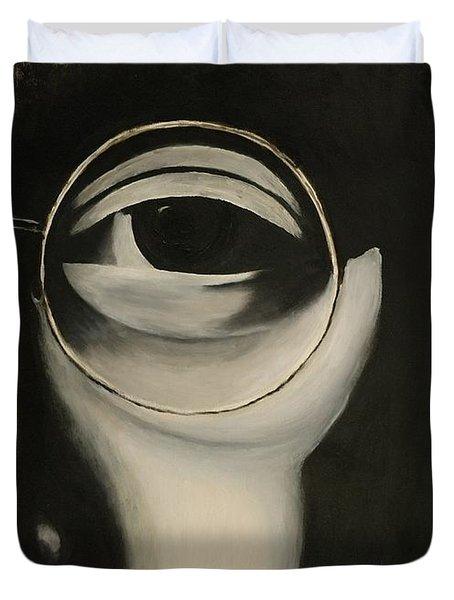 Lennon's Left Eye Duvet Cover