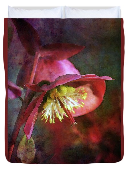 Lenten Rose Bowing To The Sun 8712 Idp_2 Duvet Cover