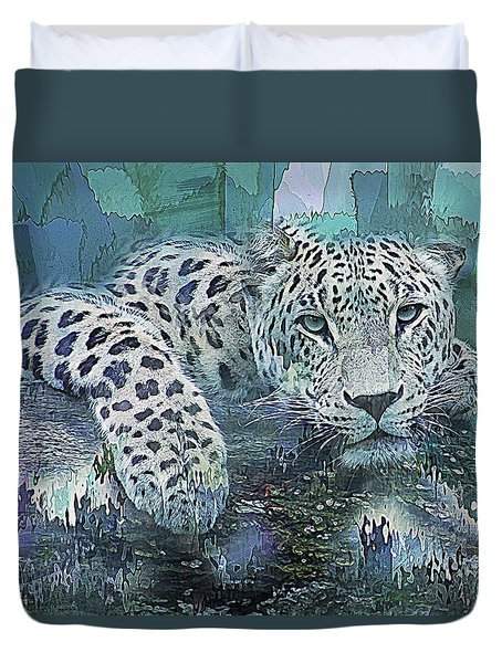 Leopard Abstract Duvet Cover