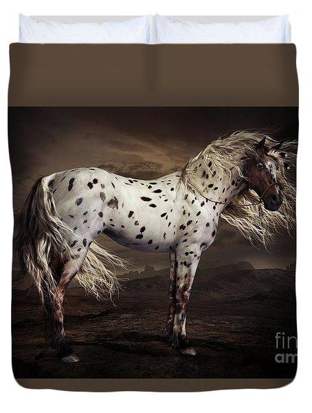 Leopard Appalossa Duvet Cover by Shanina Conway