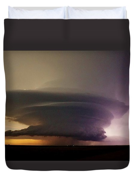 Leoti, Ks Supercell Duvet Cover