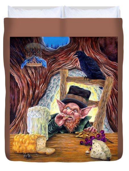 Leprechaun's Lair Duvet Cover