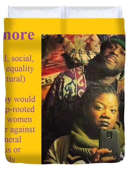 Les Izmore Feminism Duvet Cover