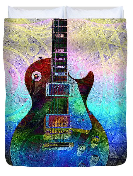 Les Paul Guitar 1 Duvet Cover