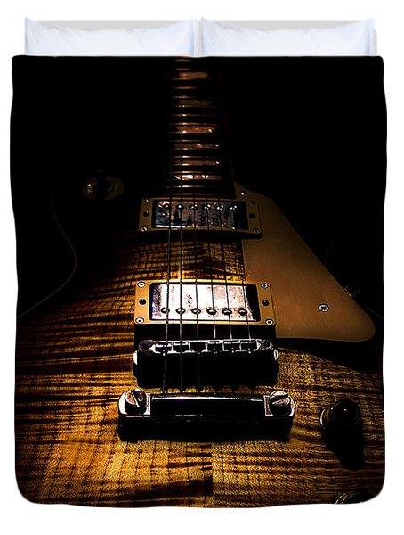 Burst Top Guitar Spotlight Series Duvet Cover