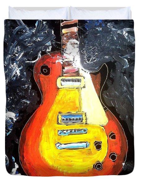 Les Paul Live Duvet Cover