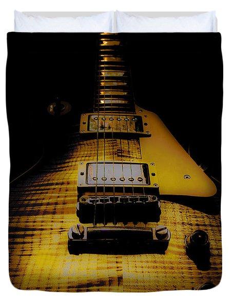 1958 Reissue Guitar Spotlight Series Duvet Cover