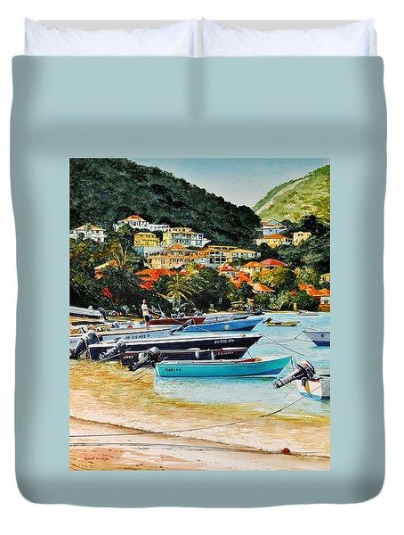 Les Saintes, French West Indies Duvet Cover