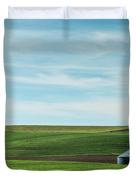 Less Is More. Duvet Cover