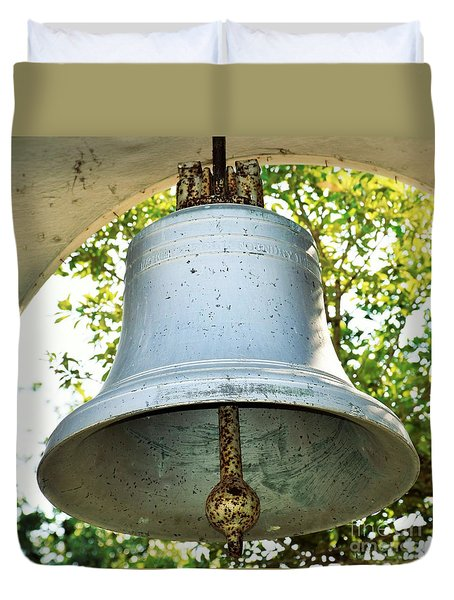 Duvet Cover featuring the photograph Let Freedom Ring ...  by Ray Shrewsberry