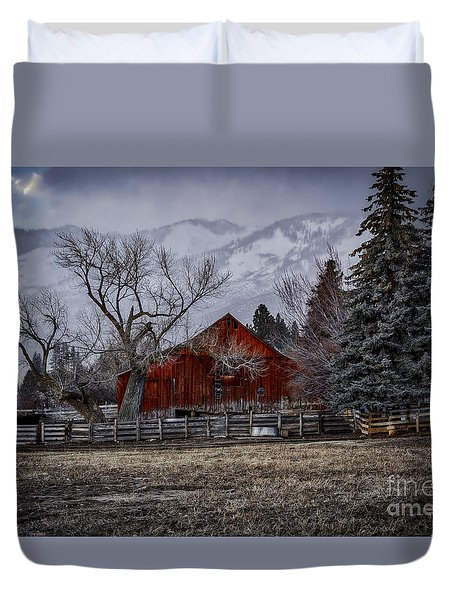 Let It Be Duvet Cover by Mitch Shindelbower