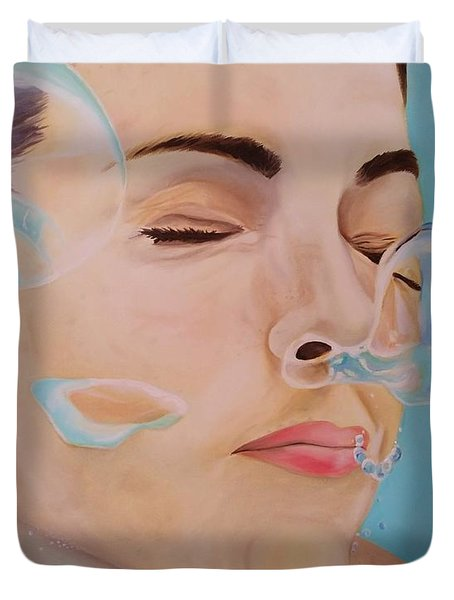 Let It Go Duvet Cover