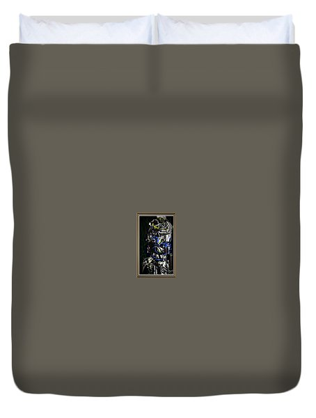 Let Love Be No Illusion Duvet Cover