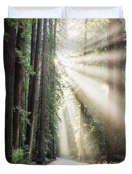 Let The Sun Shine Duvet Cover