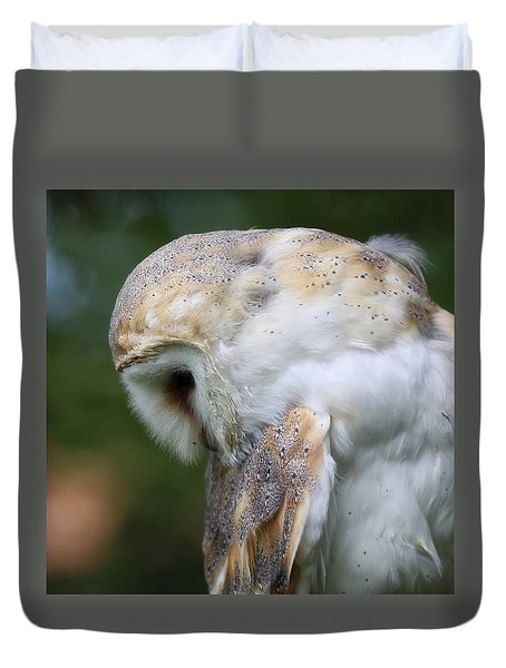 Let Us Prey Duvet Cover