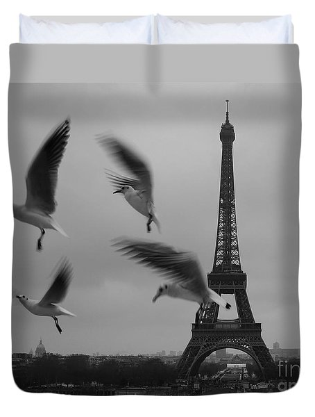 Duvet Cover featuring the photograph Let Your Spirit Fly  by Danica Radman
